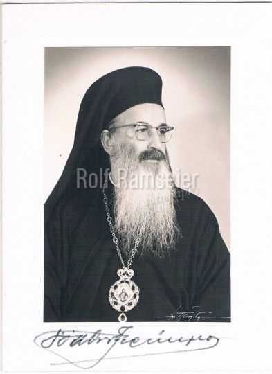 Archbishop Ieronymos I of Athens 1905-88