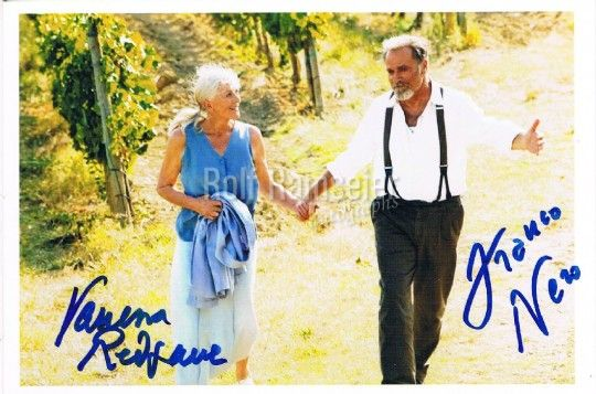 Letters to Juliet - Vanessa Redgrave 1937- & Franco Nero 1941-