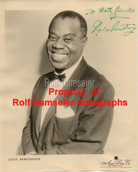Armstrong Louis (Satchmo) (1900-1971)