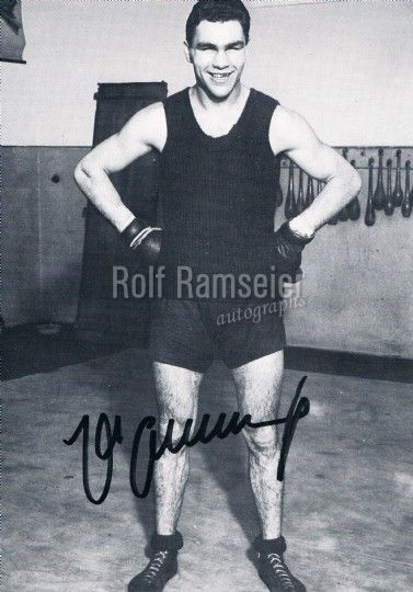 Max Schmeling 1905-2005